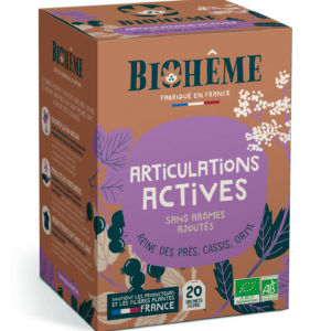 Articulations actives - infusions bio