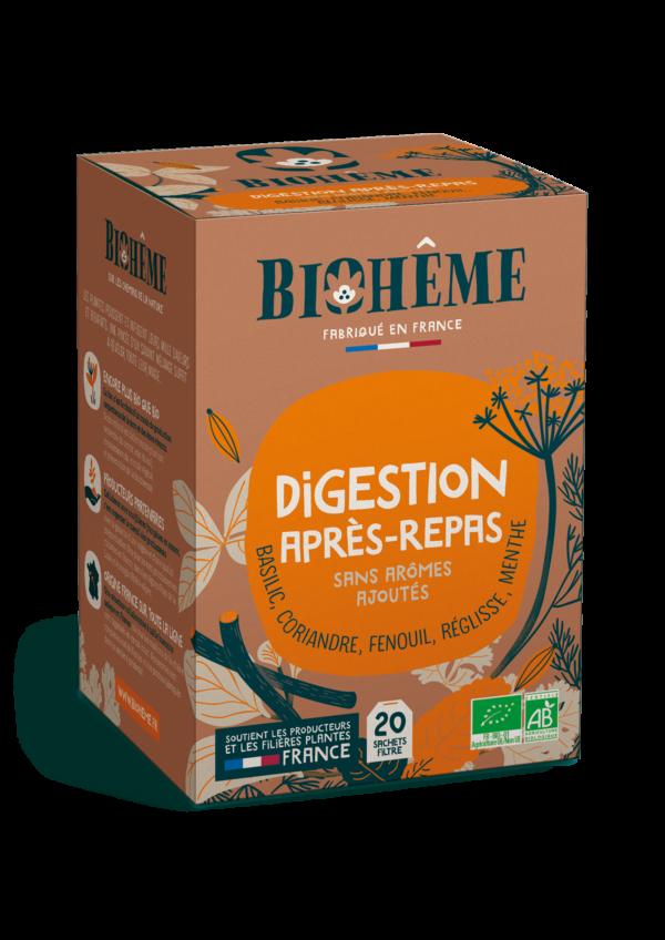 Digestion après-repas - infusion bio