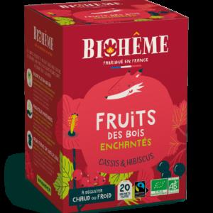 Fruits des bois enchantés - Infusion bio infusettes