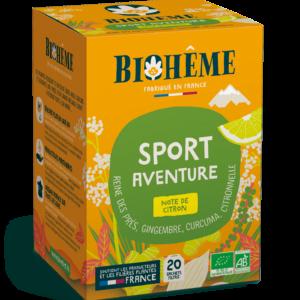 Sport Aventure - Infusion bio