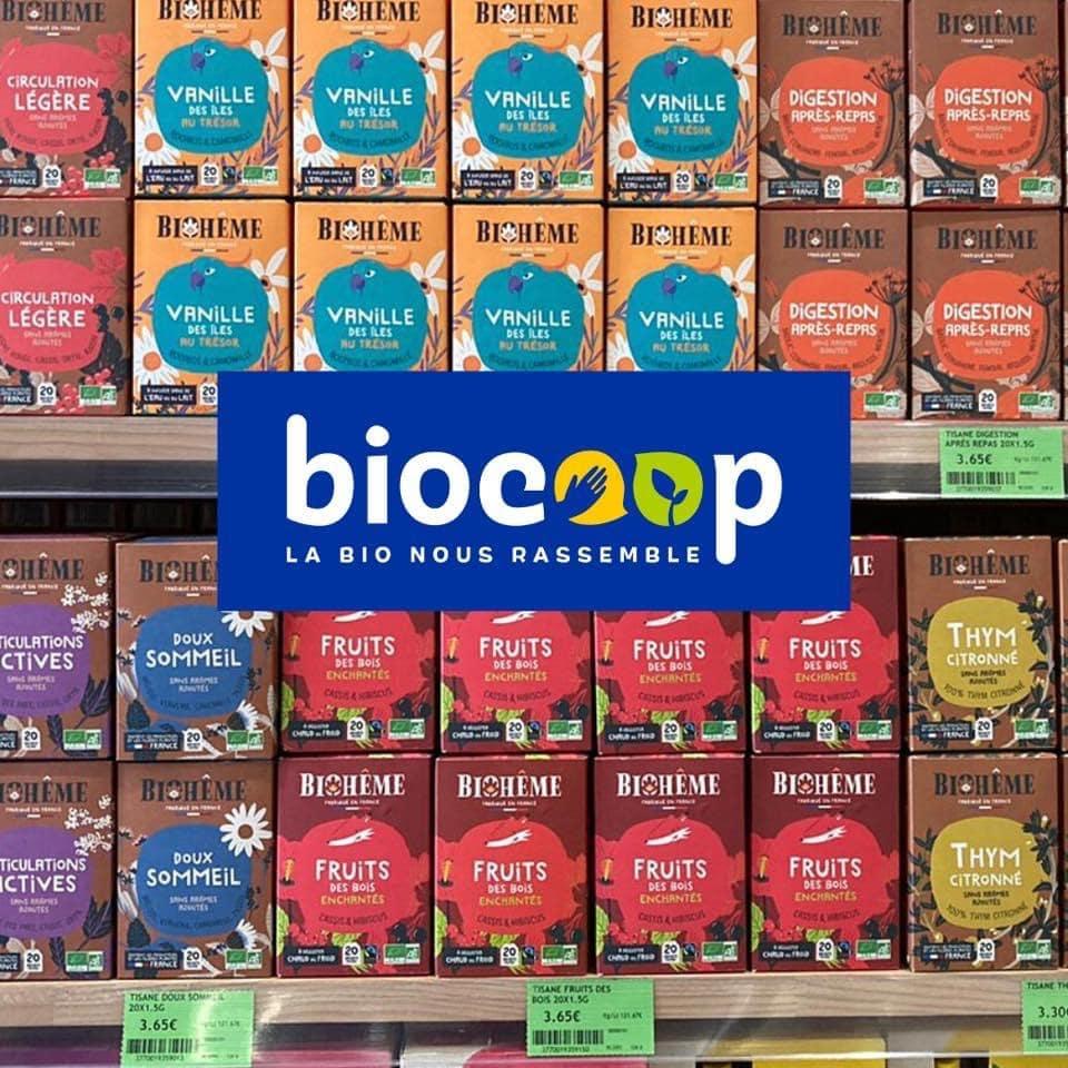Bioheme infusions bio Biocoop