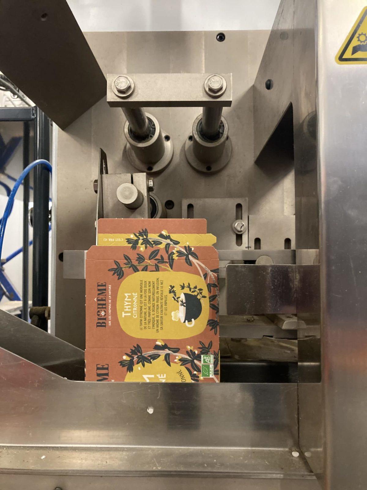 Production des infusions bio Biohême