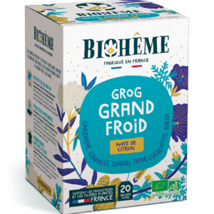 Grog Grand froid - infusion bio hiver - Biohême
