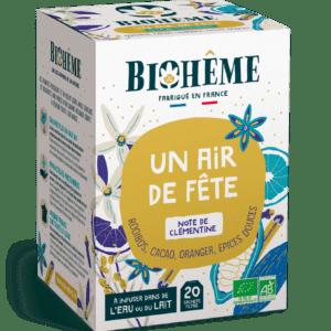 Tisane bio - Un air de fête - Noël - Biohême